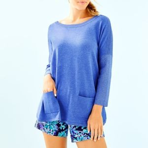 Lilly Pulitzer Cobo Sweater Lightweight Pullover